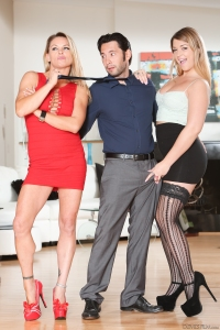 From a Devils Film shoot with Tommy Pistol & Jenna Ashley